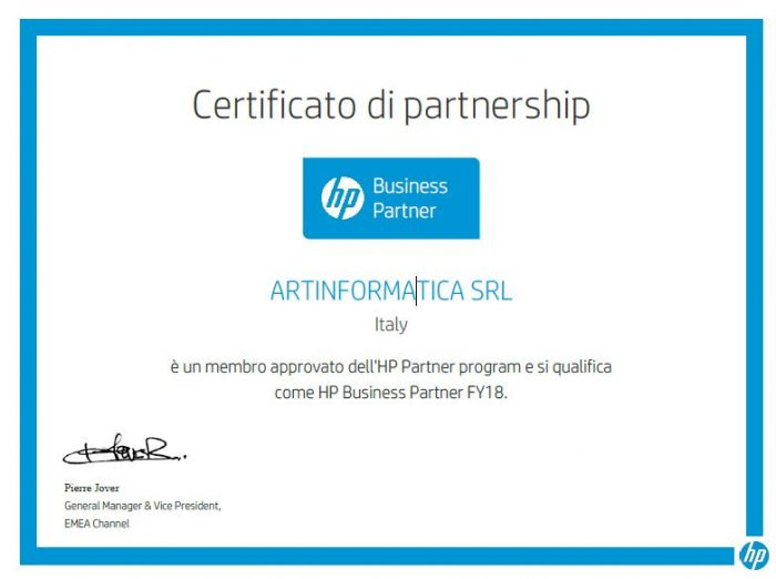 HP Business Partner 2018
